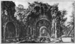 tablou piranesi - roma antica, alb negru 56