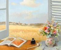 tablou marcel dyf - opened window