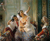 tablou grigory grigoryevich orlov - roman carnival
