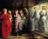 Tablou canvas rubens - the holy women at the sepulchre