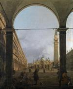 Tablou canaletto - venice - piazza san marco