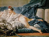 tablou francois boucher - odalisque, nud (1745)