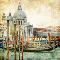 tablou venetia, vintage, italia (167)