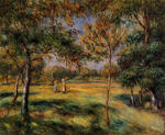 Tablou canvas Renoir - clearing, 1895