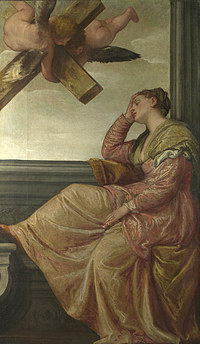 tablou paolo veronese - the dream of saint helena