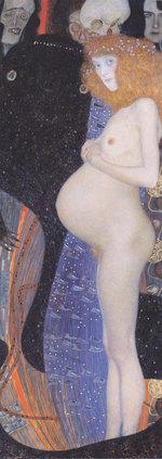 tablou Gustav Klimt - die hoffnung the hope 1903