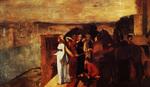 tablou 1861  edgar degas - semiramis construisant babylone