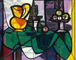 Tablou canvas picasso- boccale e fruiteria 1931