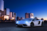 Tablou canvas sport car (5)