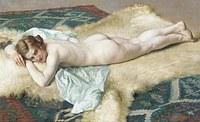 Tablou canvas nud, 80
