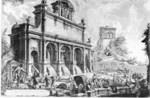 tablou piranesi - roma antica, alb negru 14