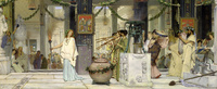 Tablou canvas lawrence alma tadema - the vintage festival