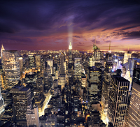 Tablou canvas new york night (101)