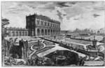 tablou piranesi - roma antica, alb negru 66