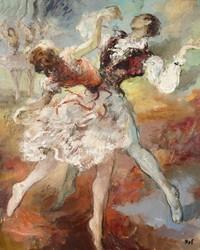 tablou marcel dyf - pair of dancers