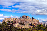 tablou acropola, atena, grecia (101)