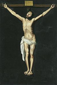 tablou francisco de zurbaran - crucifixion (1630)