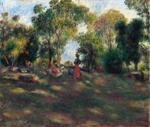 tablou renoir - landscape, 1881