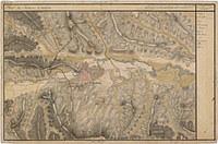 tablou harta antica, cluj, romania