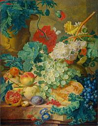 Tablou canvas flori, reproducere pictura (115), 1749