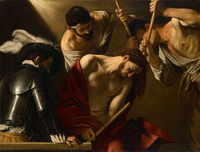 Tablou canvas caravaggio - the crowning with thorns (2)