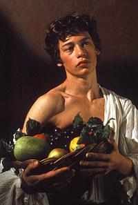 Tablou canvas caravaggio - caravaggio - boy with a basket of frits (2)