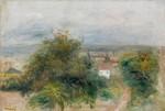 tablou renoir - essoyes landscape, 1900