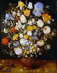 Tablou canvas flori, reproducere pictura (123), 1607