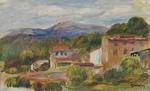 tablou Renoir - cagnes landscape, 1904 10