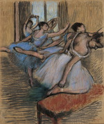 tablou degas - dancers