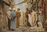 tablou fabio fabbi - slave market (nud)