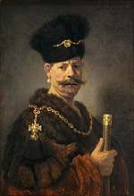 tablou rembrandt - portrait of a nobleman (1637)