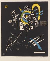 tablou wassily kandinsky - small worlds vii, 1922