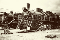 tablou locomotiva cu abur (11)