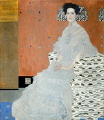 Tablou canvas Gustav Klimt - fritz ridler