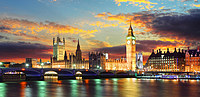 Tablou canvas big ben panorama (12), londra