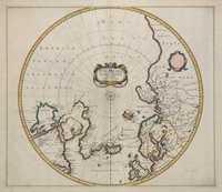 tablou Polul Nord, 1636