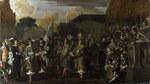 tablou dutch - a company of amsterdam militiamen