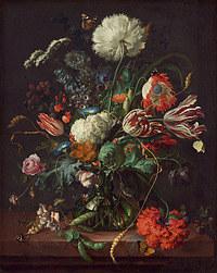 tablou flori, reproducere pictura (134), 1660