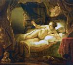 tablou rembrandt - nud