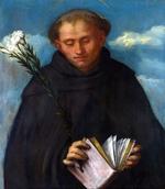 tablou romanino, girolamo - saint filippo benizzi
