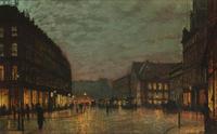 Tablou canvas fyodor vasilyev - illumination in st. petersburg