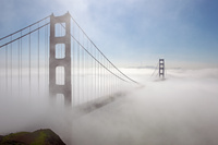 Tablou canvas san francisco, golden gate (7)