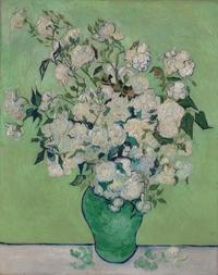 tablou van gogh - roses, 1890
