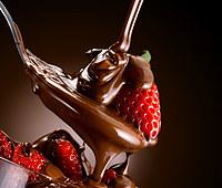 Tablou canvas ciocolata si capsuni (3)