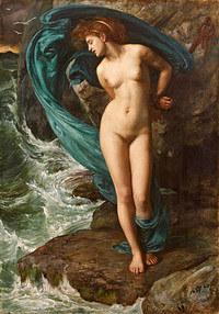tablou edward john poynter - andromeda, 1869