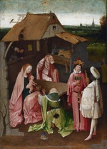 tablou hieronymus bosch - the adoration of the magi