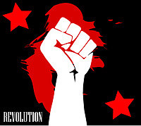 Tablou canvas revolution (2)