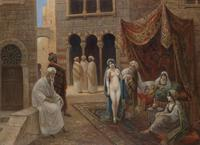 Tablou canvas stephan sedlacek -  slave market