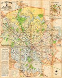 tablou harta bucuresti